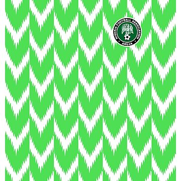 Nigeria jersey 2018 by hypetype