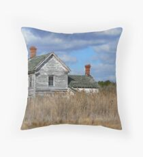 House on the Marsh Throw Pillow