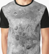 Map of Dwarf Planet Haumea -8K Graphic T-Shirt