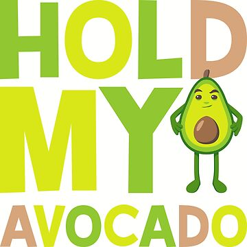 Hold My Avocado Emoji by joypixels