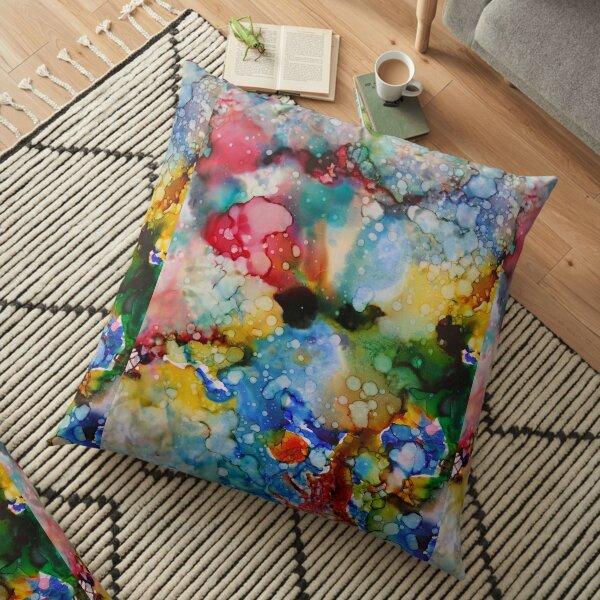 Cosmic Batik Floor Pillow