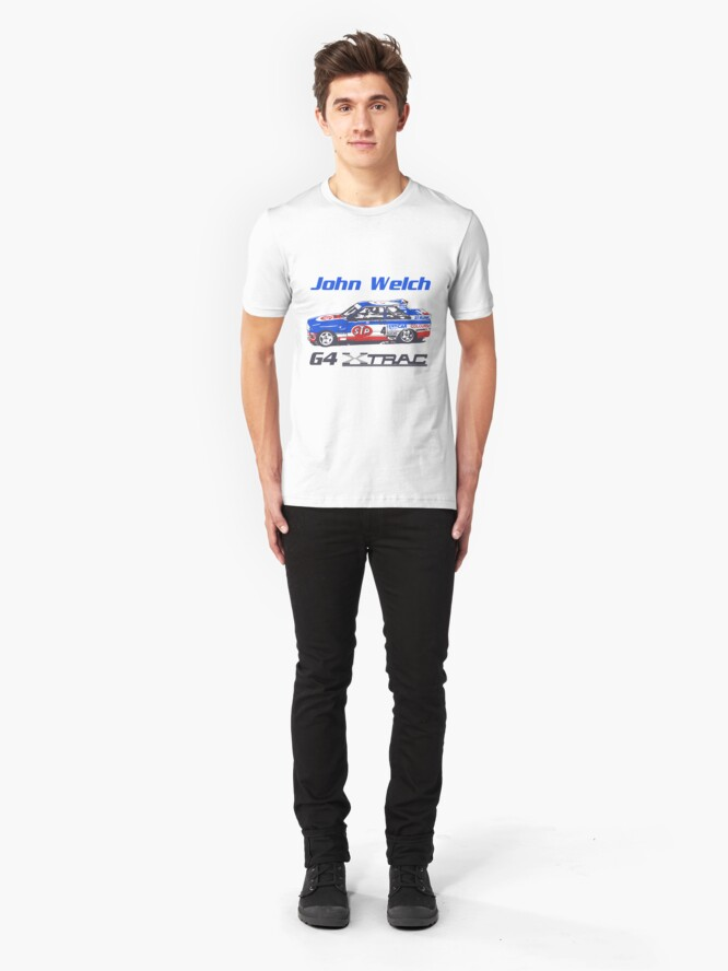 Alternate view of John Welch G4 Slim Fit T-Shirt
