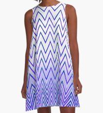 ▼▲zig zag=zig zag▲▼ A-Line Dress