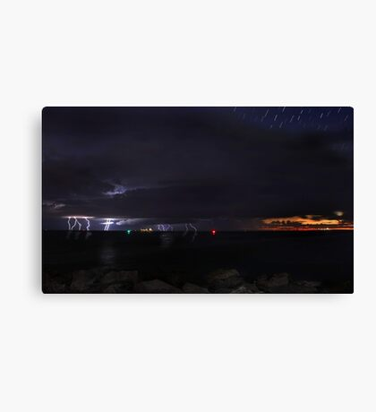 Fremantle Fury  Canvas Print