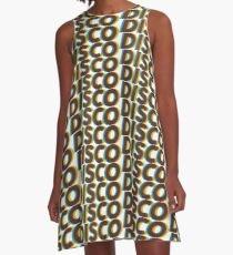 Disco Design A-Line Dress