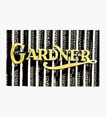 Gardener Photographic Print