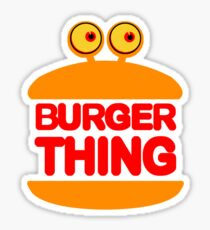 Burger Thing Sticker