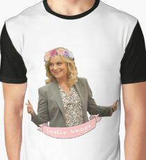 Leslie Knope Graphic T-Shirt