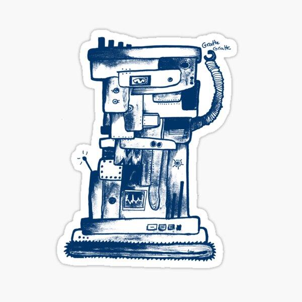 I am not a robot Sticker