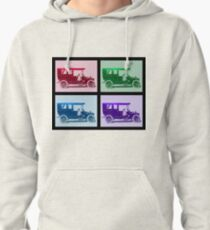 1909 Packard Limousine Quad Pullover Hoodie