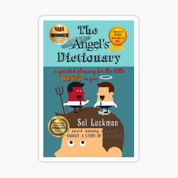 THE ANGEL'S DICTIONARY: A Spirited Glossary for the Little Devil in You Sticker