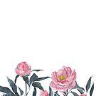 Blooming peonies von youdesignme