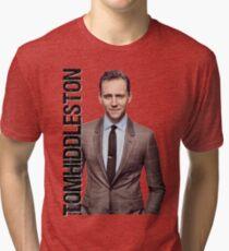 Camiseta de tejido mixto Tom Hiddleston