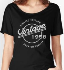 1958 Birthday Humor Women's Relaxed Fit T-Shirt