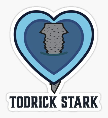 Todrick Stark Glossy Sticker