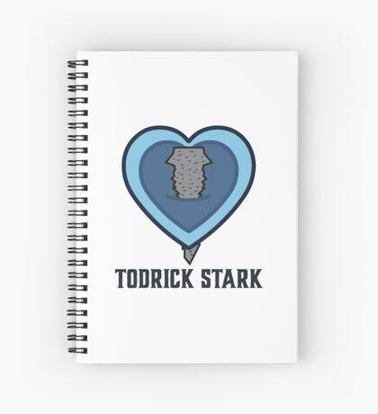 Todrick Stark Spiral Notebook