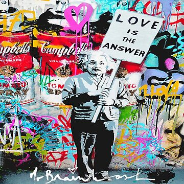 love is the answer banksy by sswain