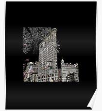 Flatiron Building NYC New York Souvenir Poster