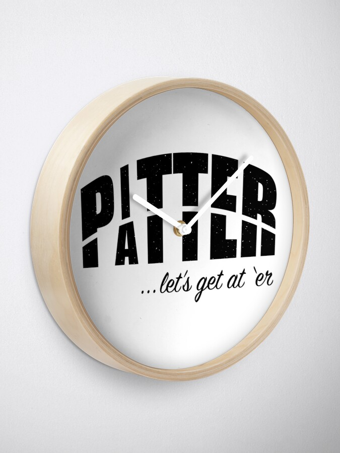 Alternate view of Pitter Patter Clock