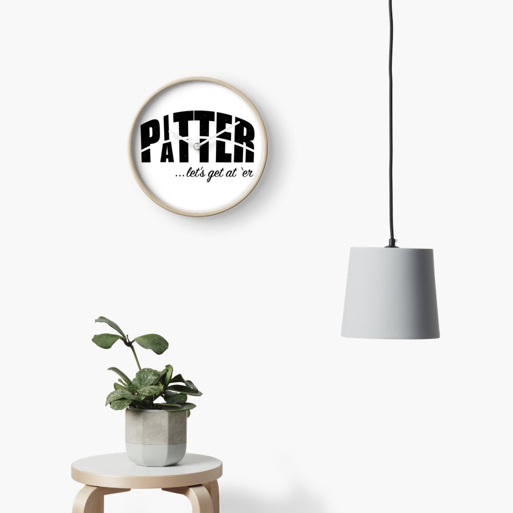 Pitter Patter Clock