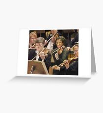 Violin Section Greeting Card