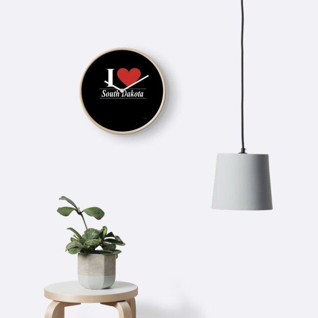 I Love South Dakota - For Passionate South Dakotan or South Dakota Residents Gift by Gift-Ideas