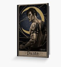 Dante Greeting Card