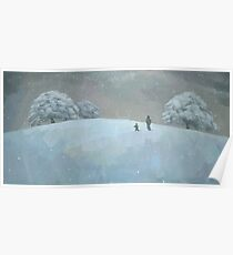 Snowy Hill Poster