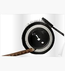 Beauty Canon Lens  Poster