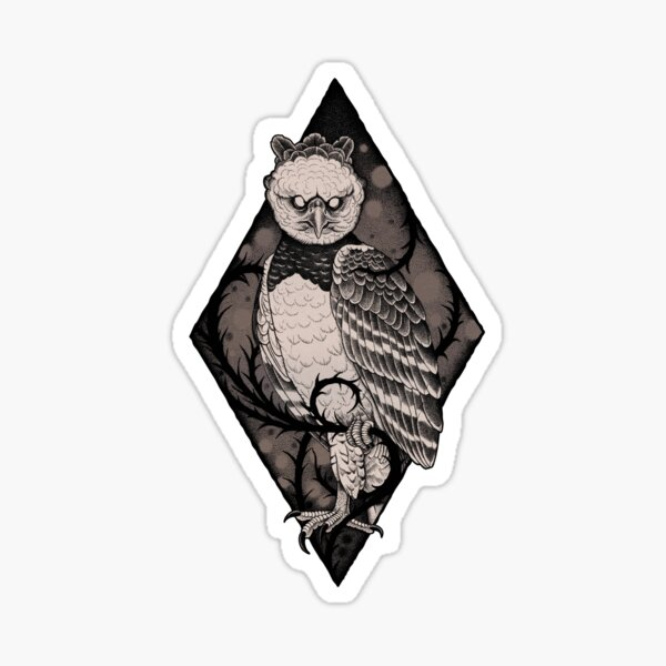 Harpy Eagle Sticker