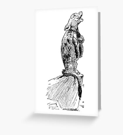 The Mock Turtle Greeting Card