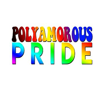 Polyamorous Pride Design Pride Month by snorkle