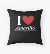I Love  Amarillo - Gift for Proud Texan From  Amarillo Texas TX  Floor Pillow