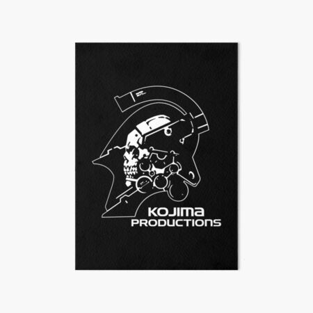 Kojima Productions® - Logo Art Board Print