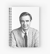 Fred Rogers Portrait Spiral Notebook