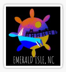 Emerald Isle, NC Sticker