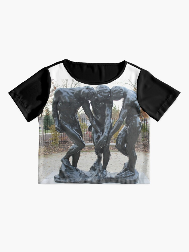 Alternate view of #Pattern, #design, #tracery, #weave, #drawing, #figure, #picture, #illustration Chiffon Top