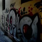 Czech Graffiti by Hallie Duesenberg