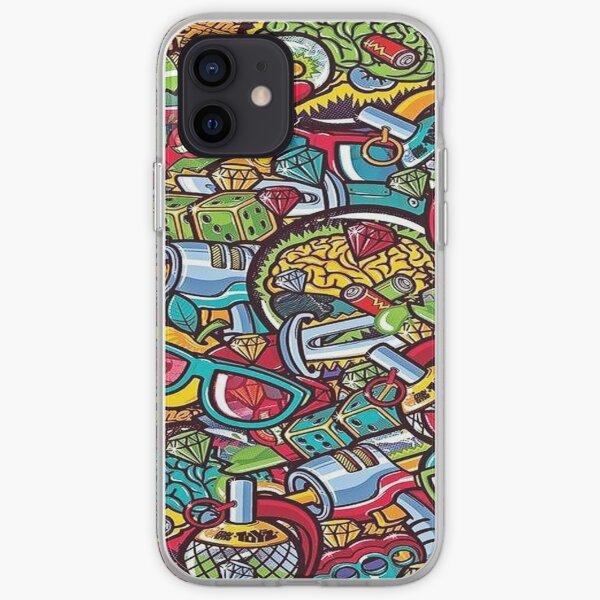 Coques et étuis iPhone sur le thème Stickerbomb | Redbubble