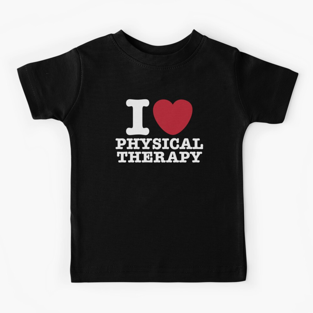I Heart Physical Therapy Kids T-Shirt
