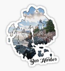 Bar Harbor, Me Sticker