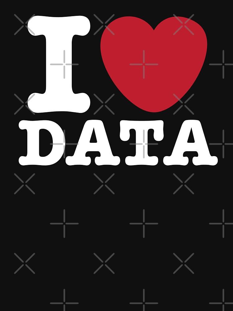 I Heart Data by teesaurus