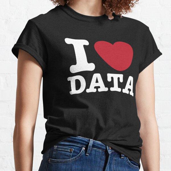 I Heart Data Classic T-Shirt