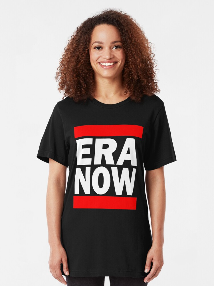 Alternate view of ERA NOW - Red Slim Fit T-Shirt