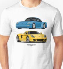 Supercar Evolution (blue & yellow) Unisex T-Shirt