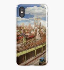 City - New York - The Brooklyn bridge from 1903 iPhone Case