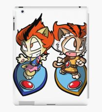 Thundercats Chibi WilyKit and WilyKat iPad Case/Skin