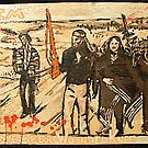 WOUNDED KNEE by johnny hancen