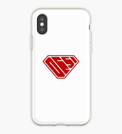 Desi SuperEmpowered (Red) iPhone Case