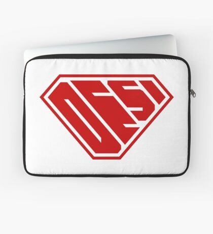Desi SuperEmpowered (Red) Laptop Sleeve